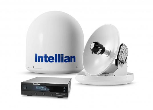 Intellian Technologies ist einer der weltweit führenden Hersteller von Satellitenkommunikations-Systemen. Dementsprechend hochwertig in Qualität und Ausstattung sind auch die i-Serie Antennen, passend konzeptioniert für alle Boots- und Yacht-Typen und -Größen. Diese Antennen überzeugen durch hervorragende Empfangseigenschaften. Exklusive und patentierte Technologien machen das Fernsehen an Bord einfacher und angenehmer, als man es sich vorstellen kann! (Bild 8 von 13)