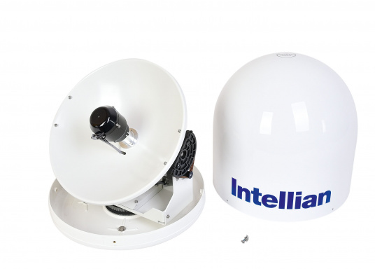 Intellian Technologies ist einer der weltweit führenden Hersteller von Satellitenkommunikations-Systemen. Dementsprechend hochwertig in Qualität und Ausstattung sind auch die i-Serie Antennen, passend konzeptioniert für alle Boots- und Yacht-Typen und -Größen. Diese Antennen überzeugen durch hervorragende Empfangseigenschaften. Exklusive und patentierte Technologien machen das Fernsehen an Bord einfacher und angenehmer, als man es sich vorstellen kann! (Bild 6 von 13)