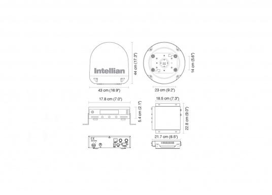 Die Satelliten Antennen der i-Serie von Intellian überzeugen durch hervoragenden TV-Empfang an Bord Ihres Schiffes. Dabei bietet Intellian exklusive und patentierte Technologien, die das Fernsehen an Bord einfacher und angenehmer machen, als man sich vorstellen kann! (Bild 12 von 12)