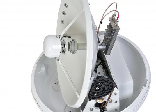 Die Satelliten Antennen der i-Serie von Intellian überzeugen durch hervoragenden TV-Empfang an Bord Ihres Schiffes. Dabei bietet Intellian exklusive und patentierte Technologien, die das Fernsehen an Bord einfacher und angenehmer machen, als man sich vorstellen kann! (Bild 4 von 12)