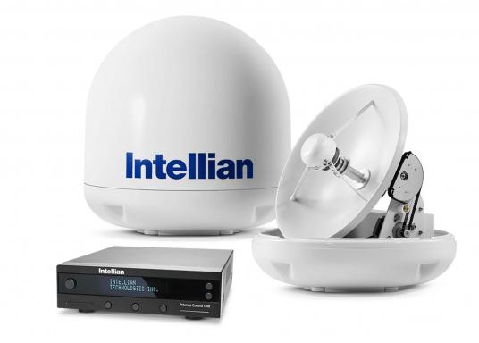 Die Satelliten Antennen der i-Serie von Intellian überzeugen durch hervoragenden TV-Empfang an Bord Ihres Schiffes. Dabei bietet Intellian exklusive und patentierte Technologien, die das Fernsehen an Bord einfacher und angenehmer machen, als man sich vorstellen kann! (Bild 6 von 12)