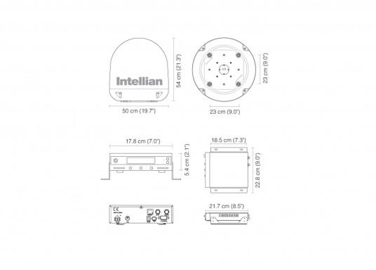 Die Satelliten Antennen der i-Serie von Intellian überzeugen durch hervoragenden TV-Empfang an Bord Ihres Schiffes. Dabei bietet Intellian exklusive und patentierte Technologien, die das Fernsehen an Bord einfacher und angenehmer machen, als man sich vorstellen kann! (Bild 5 von 5)