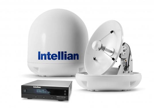 Die Satelliten Antennen der i-Serie von Intellian überzeugen durch hervoragenden TV-Empfang an Bord Ihres Schiffes. Dabei bietet Intellian exklusive und patentierte Technologien, die das Fernsehen an Bord einfacher und angenehmer machen, als man sich vorstellen kann! (Bild 4 von 5)