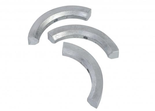 Anode d'hélice pour hélices repliables 2 et 3 pales Volvo Penta. Disponible en zinc, aluminium ou magnésium.Référence de pièce Volvo Penta : 3858399.