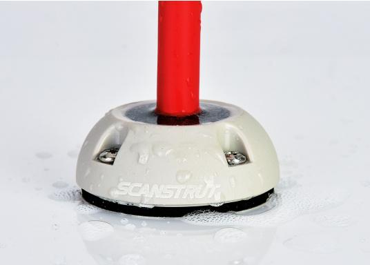 Kabeldurchführung DS16-P aus Kunststoff. Für Stecker bis 16 mm und 2 - 8 mm Kabel. (Bild 2 von 2)