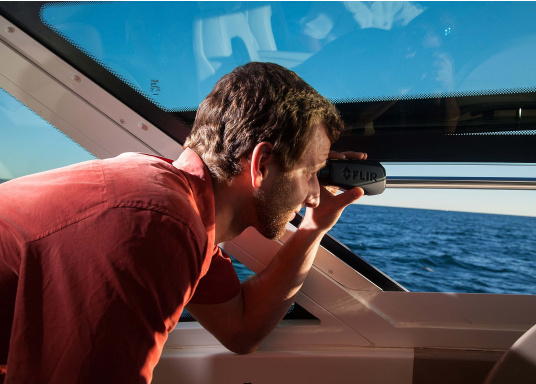 The FLIR Ocean Scout TK is a marine thermal camera that extends your vision on the water, day or night, for greater awareness and safety! (Image 12 of 12)