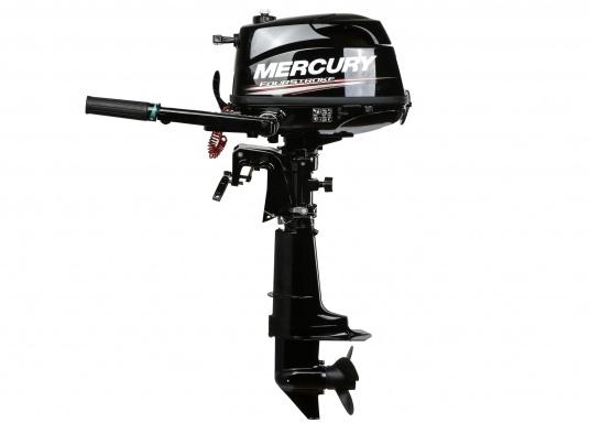 Mercury Außenborder F5M mit 5 PS Leistung und einem geringen Gewicht von 25 kg. Der ideale Bootsmotor.