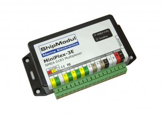 Der optimale Multiplexer für größere, professionelle Netzwerke. Mit diesem Multiplexer lassen sich Geräte aus unterschiedlichen Netzwerken ganz einfach verbinden.