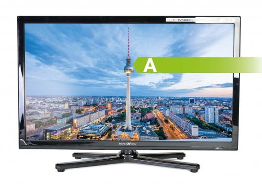 Kompakter, eleganter 12V Fernseher, der Ihnen den vollen Fernsehspaß in HD-Qualität an Bord, im Auto oder im Wohnwagen bietet.