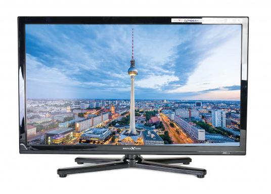 Kompakter, eleganter 12V Fernseher, der Ihnen den vollen Fernsehspaß in HD-Qualität an Bord, im Auto oder im Wohnwagen bietet. (Bild 2 von 8)