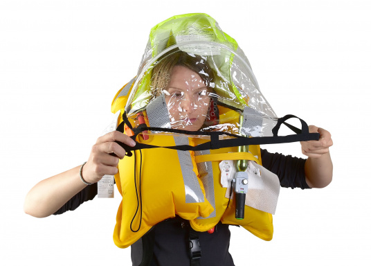 """Spraycap (""""Sprayhood""""), suitable for the SEATEC X-Pro 180 and 300, and the SEATEC X-Advanced 300. (Image 4 of 6)"""
