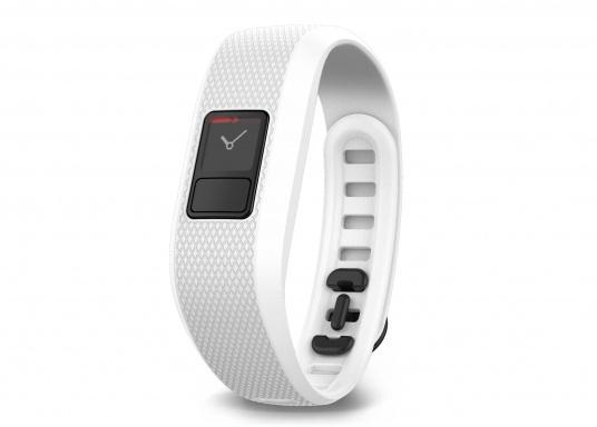 Immer in Bewegung mit dem vívofit® 3 Fitness Tracker mit bis zu 1 Jahr Batterielaufzeit und Move IQ™. (Bild 2 von 3)