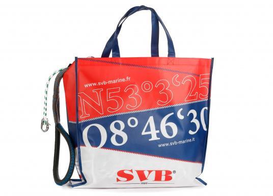 Langlebig und stabil - unsere neuen SVB Tragetaschen aus leichtem Non-Woven-Material. Maße: 50 x 50 x 10 cm. (Bild 2 von 4)