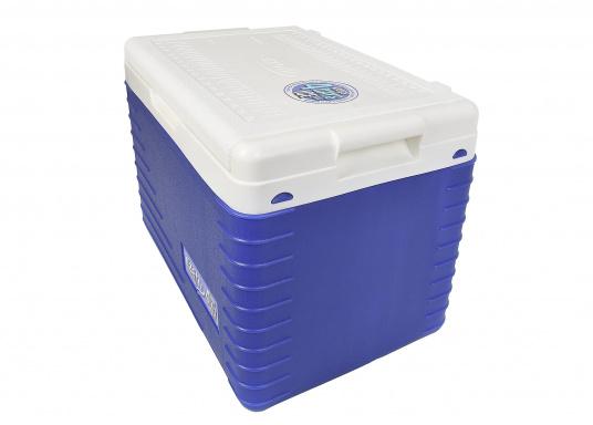 Passive Kühlboxen sind besonders praktisch, um bereits gekühlte Lebensmittel kalt zu halten. Die Kühlbox der Marke EZetil hält sogar Eis bis zu drei Tage lang gefroren. (Bild 2 von 4)