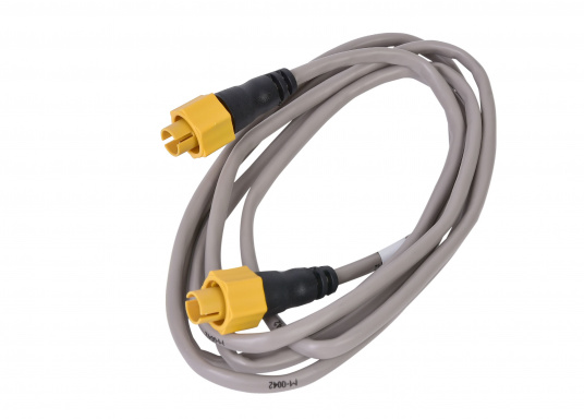 Ethernet cable with yellow 5-pin plug. For use within networks containing devices under the brand Navico: Lowrance, Simrad and B&G. Length: 1.8 m.