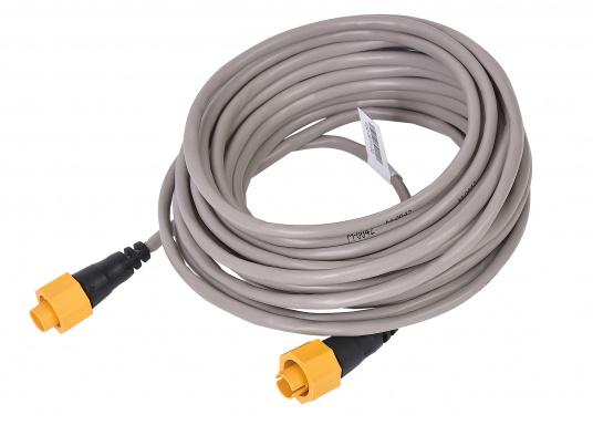 Ethernetkabel mit gelbem 5-Pin-Stecker. Zur Verwendung in Netzwerken bestehend aus Geräten der Navico-Marken Lowrance, Simrad und B&G. Länge: 15,2 m.