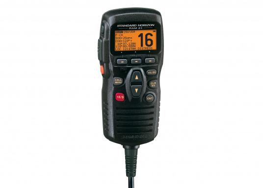 Zweithörer passend für die UKW-Funkgeräte GX1600, GX1700, GX2000, GX2100 und GX2200 von Standard Horizon.