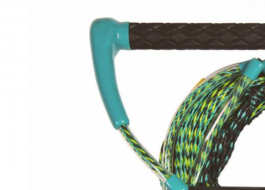 Dieses Kneeboard Seil ist mit einem ca. 38 cm breiten Profil-Handgriff ausgestattet. (Bild 2 von 3)
