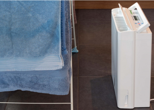 The most advanced and intelligent dehumidifier on the market! The MAECO DD8L ZAMBEZI offers everything you could ever wish for! The DD8L offers more functions and features than any other dehumidifier. (Afbeelding 14 of 19)