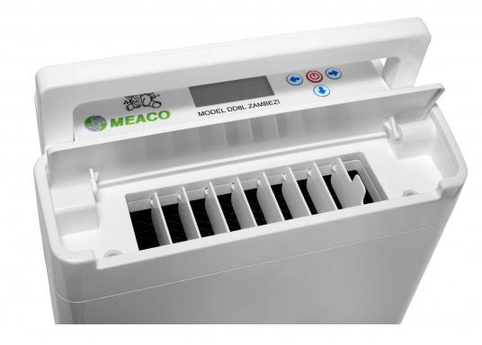 The most advanced and intelligent dehumidifier on the market! The MAECO DD8L ZAMBEZI offers everything you could ever wish for! The DD8L offers more functions and features than any other dehumidifier. (Afbeelding 8 of 19)