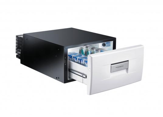 Das passt, wo sonst nichts passt! Das Einbau-Kühlschubfach CD 30 bringt leistungsstarke Kompressorkühlung in beengte Raumverhältnisse, auch seitlicher Einbau möglich.
