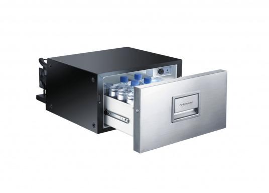 Das passt, wo sonst nichts passt! Das Einbau-Kühlschubfach CD 20bringt leistungsstarke Kompressorkühlung in beengte Raumverhältnisse, auch seitlicher Einbau möglich.