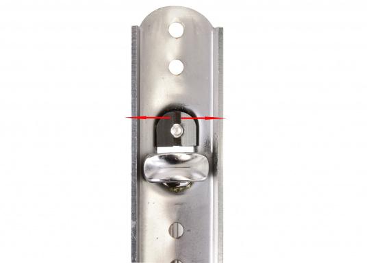 Diese Sicherungsstecker dienen der Sicherung der T-Terminals in der Ankerplatte. Ein Ausreißen des T-Terminals ist nach Einschrauben des Sicherungssteckers nicht mehr möglich. (Bild 9 von 9)
