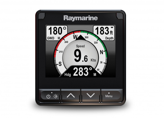 """The i70s multifunction display gives you the flexibility to display instrument and navigation data that is most important to you. Equipped with a bold and bright 4.1"""" display the i70s is easy-to-customize with digital, analog and graphical displays of depth, speed, wind and more."""