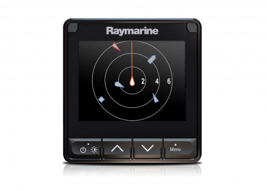 """The i70s multifunction display gives you the flexibility to display instrument and navigation data that is most important to you. Equipped with a bold and bright 4.1"""" display the i70s is easy-to-customize with digital, analog and graphical displays of depth, speed, wind and more. (Image 4 of 6)"""