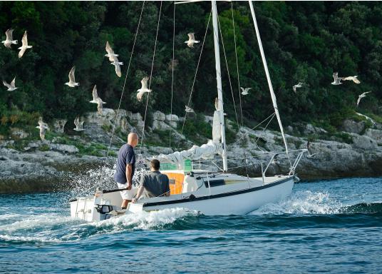 Die neue Generation des Torqeedo CRUISE 2.0 wurde für die schwierigen Herausforderungen der täglichen Nutzung entwickelt - bereit, um es mit den härtesten Umweltbedingungen aufzunehmen, beispielsweise mit Dinghies oder Segelboote bis zu 3 Tonnen. (Bild 8 von 9)