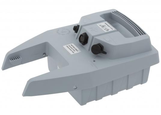 Der Wechselakku für den Torqeedo Travel 1003/503 Elektro - Außenborder mit 915Wh/31 Ah besteht aus einem Lithium-Hochleistungsakku und hat einen integrierten GPS-Empfänger.