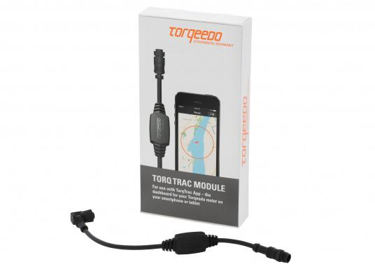Das Upgrade für Ihren Bordcomputer! TorqTrac überträgt die Informationen auf dem Datenbus Ihres Torqeedo Antriebs per Bluetooth an Ihr Smartphone. Dort werden die Informationen nicht nur übersichtliche angezeigt. (Bild 3 von 8)