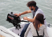 DF 5A L Outboard Motor / Long Shaft / Manual Start