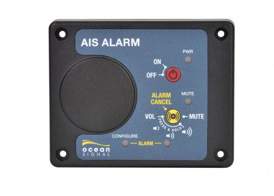 Die AIS Alarm-Box gibt bei der Auslösung einer AIS MOB oder AIS SART Meldung ein akustisches Signal, um sofortige Aufmerksamkeit und die schnellstmögliche Rettung des Besatzungsmitglieds zu gewährleisten.