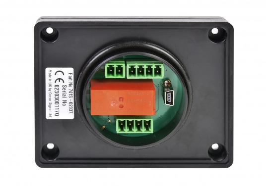 Die AIS Alarm-Box gibt bei der Auslösung einer AIS MOB oder AIS SART Meldung ein akustisches Signal, um sofortige Aufmerksamkeit und die schnellstmögliche Rettung des Besatzungsmitglieds zu gewährleisten. (Bild 3 von 4)