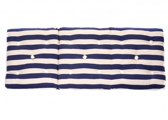 Schwimmfähiges Dreifach-Kissen mit echter Kapok-Naturfaser-Füllung. Bezug 100% Baumwolle. (Bild 5 von 9)