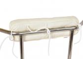 Cuscino per reling in Kapok / beige