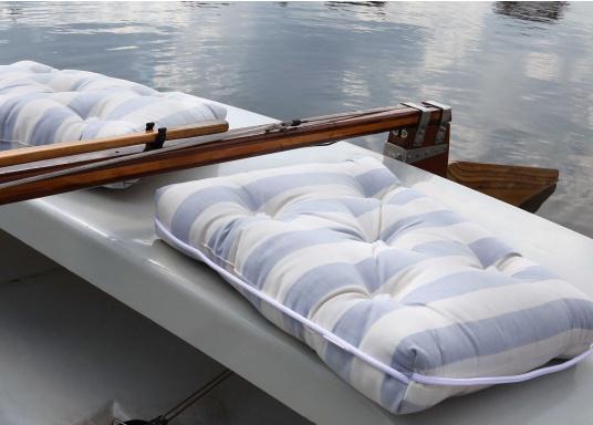 Schwimmfähiges Kissen mit echter Kapok-Naturfaser-Füllung. Bezug 100% Baumwolle. (Bild 4 von 6)