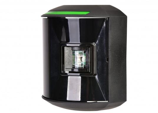 LED-Steuerbordlaterne der Serie 44 mit schwarzem Gehäuse.Die hochqualitativen und modernen LED-Positionsleuchten der Serie 44 überzeugen mit edlem Design und ultra heller Power LED. (Bild 3 von 6)