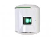Serie 44: Fanale di dritta al LED / alloggiamento bianco