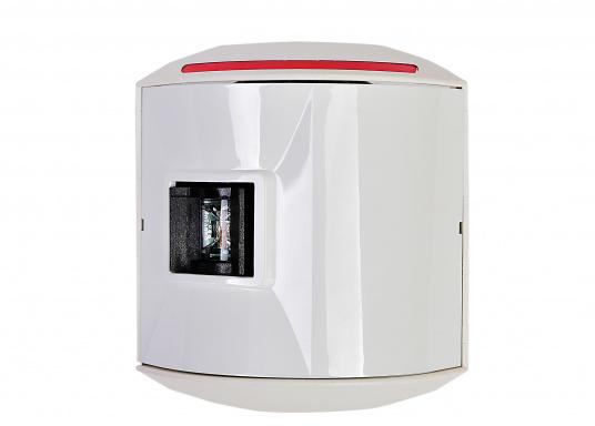 LED-Backbordlaterne der Serie 44 mit weißem Gehäuse.Die hochqualitativen und modernen LED-Positionsleuchten der Serie 44 überzeugen mit edlem Design und ultra heller Power LED. (Bild 2 von 5)