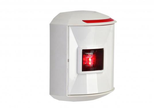 LED-Backbordlaterne der Serie 44 mit weißem Gehäuse.Die hochqualitativen und modernen LED-Positionsleuchten der Serie 44 überzeugen mit edlem Design und ultra heller Power LED. (Bild 4 von 5)
