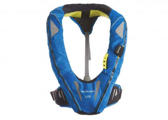 Lightweight and modern life jacket. The Deckvest LITE is perfect for sailing in coastal waters, as well as for motorboating.