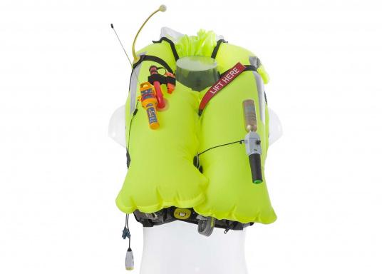 Lightweight and modern life jacket. The Deckvest LITE is perfect for sailing in coastal waters, as well as for motorboating. (Afbeelding 5 of 5)