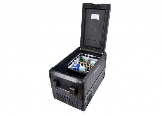 Sonderedition - Hightech-Kühlung im Heavy-Duty Gehäuse! Die Kompressorbox CFX-35 bietet Normal- und Tiefkühltemperaturen von bis zu -22°C und das bei Energieklasse A++. (Bild 4 von 9)