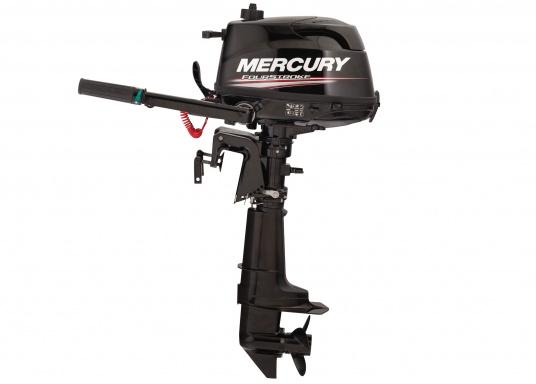 Mit dem MERCURY FourStroke Außenborder können Sie mühelos Beiboote und Skiffs antreiben. Der Motor mit 4PS und einem geringen Gewicht ist auch für seichte Gewässer geeignet. Der Ideale Bootsmotor.