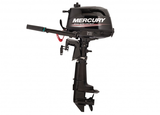 The MERCURY FourStroke provides portable power and thrust for exact operation. The 6HP engine's low weight is especially suitable for shallow waters.