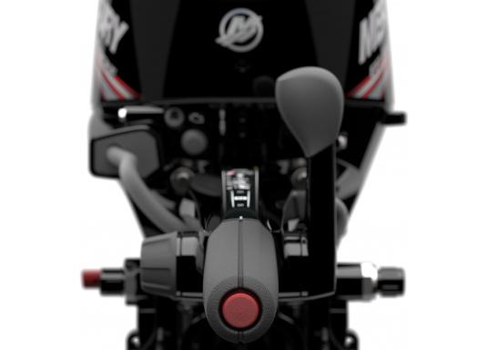 Der Außenborder F15 EFI von Mercury lässt intuitives Manövrieren für eine präzise Kontrolle zu - für eine All-in-One-Performance. Der ideale Bootsmotor. (Bild 6 von 8)