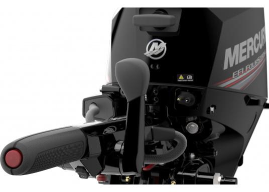 Der Außenborder F15 EFI von Mercury lässt intuitives Manövrieren für eine präzise Kontrolle zu - für eine All-in-One-Performance. Der ideale Bootsmotor. (Bild 7 von 8)