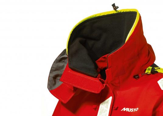Die Jacke, die dem Offshore-Segler wirklich entspricht. Mit hochstellbarem Kragen und einer Kapuze, die völlig verschließbar ist. MPX GORETEX ® steht für das beste Material für den anspruchsvollen Segler. (Bild 5 von 6)